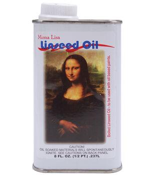 Mona Lisa Linseed Oil-8 Ounces
