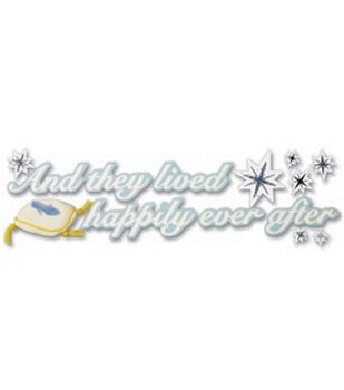 Disney Cinderella Wedding Stickers-And They Lived Happily Ever After