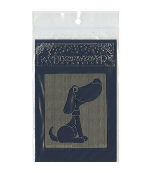 Stampendous Dreamweaver Metal Dog Stencil