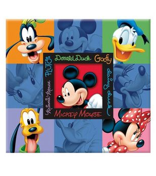 Disney Scrapbook Album 12''x12''-Mickey Blue
