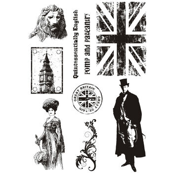 IndigoBlu Cling Mounted Stamp Pomp & Pageantry