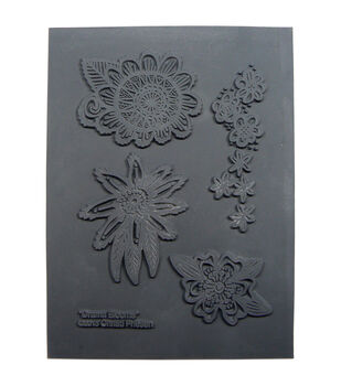 Great Create Christi Friesen Drama Blooms Texture Stamp
