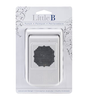 Little B Punch-Decorative Border Squared