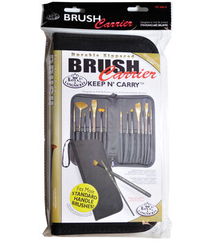 Keep N' Carry Zippered Brush Carrier 12.5''X11.25''