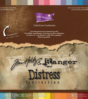 Core'dinations Tim Holtz Distress Cardstock 12''x12''