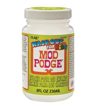 Mod Podge Kids Glue Wash Out-8oz