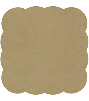 Adorn-It Art Play Bubble Square MDF Shaped Surface 8''