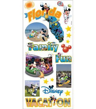 Sandylion Disney Stickers/Borders-Mikey States Florida