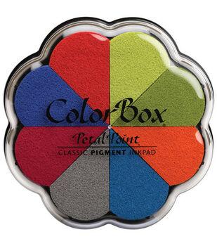 ColorBox Pigment Petal Point Option Inkpad-8PK/Beach Ball
