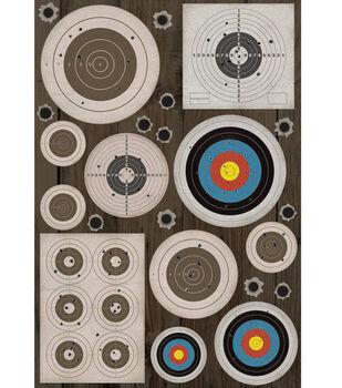 Karen Foster Cardstock Stickers-Targets