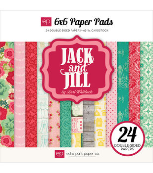 Echo Park Paper Company Jack & Jill Girl Double-Sided Paper Pad