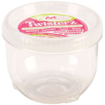 "ArtBin Twisterz Jar Anti-Tarnish-Large&Tall 3.5""X2.87"" (9fl oz)"