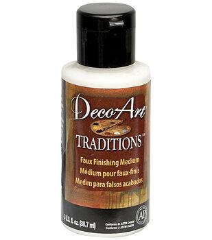 Deco Art Traditions Faux Finishing Medium 3oz