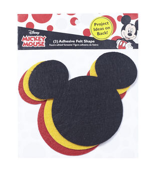 Disney Mickey Mouse Ears Adhesive Felt Pack Small
