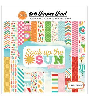 Carta Bella Soak Up The Sun Paper Pad 6''x6''