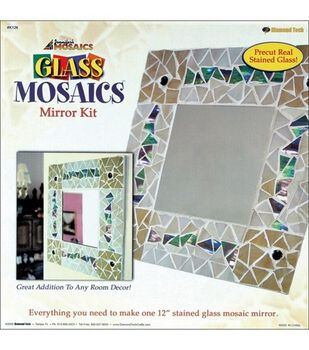 Stained Glass Mosaics Mirror Kit