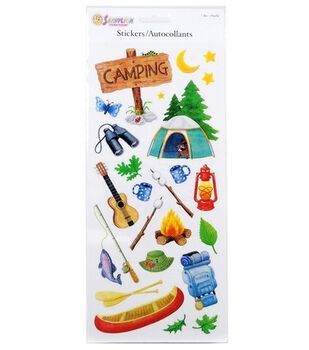 Camping Sticker Sheet