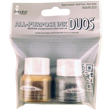 All-Purpose Ink Duos-Vegas Gold & Platinum