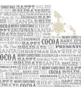 "Tinsel & Company Double-Sided Cardstock 12""X12""-Words"