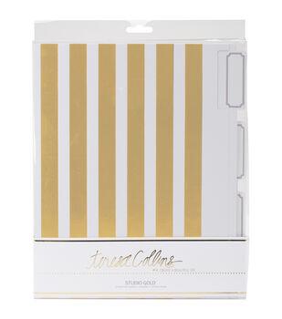 Teresa Collins Studio Gold Foiled File Folders 6/Pkg-3 Designs, 2 Each