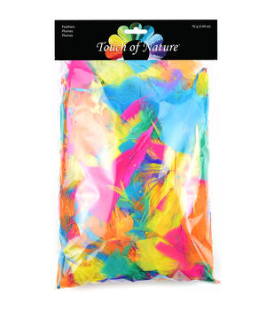 Midwest Design Big Value Pack Feathers - Vibrant 70 grams