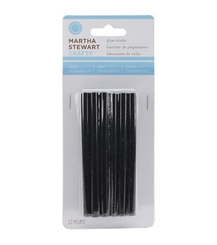 High Temp Glue Sticks 12/Pkg-Black