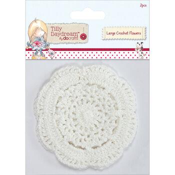 Docrafts Tilly Daydream Crochet Doily Flowers