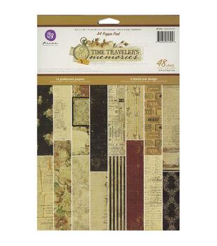 Prima Marketing Time Traveler Paper Pad 12''x8.25''