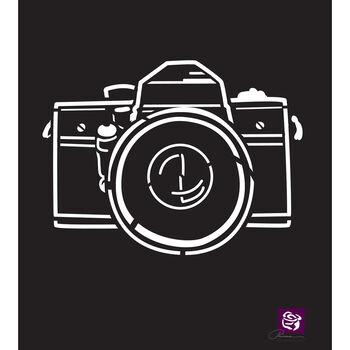 Prima Marketing Designer Stencil Camera