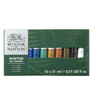 Winsor & Newton Winton Oil Paint Basic Set 21ml 10Pk