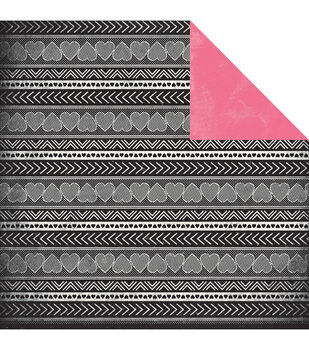 """Classique Pretty Double-Sided Cardstock 12""""X12""""-Cute"""