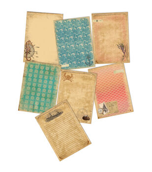 7 Gypsies Maritime Double-Sided Journal Pages