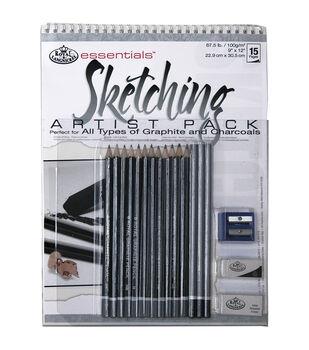 Royal Brush Essentials Artist Pack-Sketching