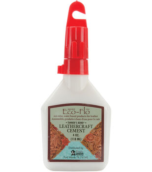 Leather Factory Tanners Bond Leathercraft Cement-4 Ounces