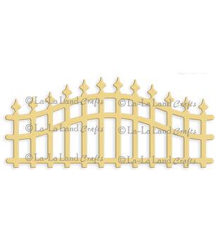 """La-La Land Die-Wrought Iron Fence, 2.25""""X5.25"""""""