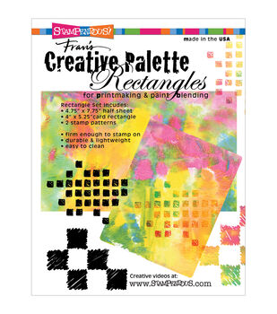 Stampendous Creative Palette Rectangles Designs