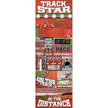 Track Gra -real Sport Stickers