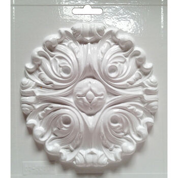 Yaley Candle Crafting Cool2Cast Mold Round Scroll