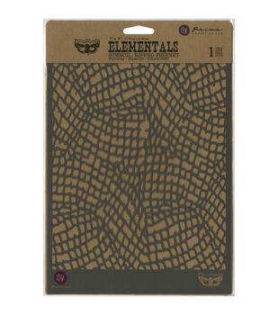 Prima Marketing Finnabair Ripped Fishnet Stencil
