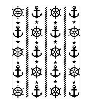 Darice Nautical Embossing Folder