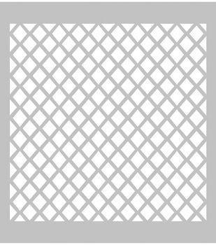 FabScraps Plastic Diamond #1 Stencil