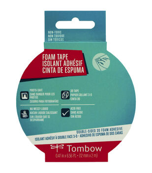 Tombow Double-Sided White 3D Foam Tape