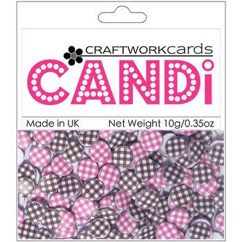 Craftwork Cards Candi Dot Printed Embellishments Celestial