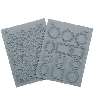 """Lisa Pavelka Stamp Set 4.25""""X5.5"""" Sheets 2/Pkg-Artful"""