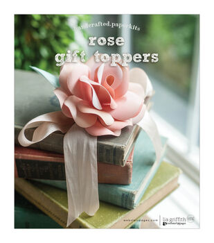 Websters Pages Handcrafted Paperkit-Toppers: Rose