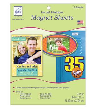 June Tailor® Ink Jet Printable Magnet Sheets