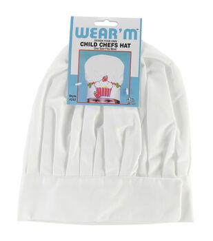 Child Chef Hat-White