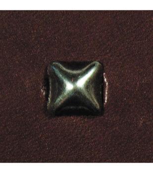 Pyramid Spots 48/Pkg-Small Antique Nickel