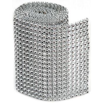 Darice Bling On A Roll Silver 3mm x 1 yard