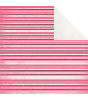 """Classique Pretty Double-Sided Cardstock 12""""X12""""-Ribbon"""